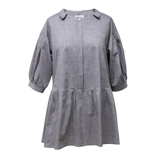 مانتو زنانه دِرِس ایگو کد 1100045 رنگ خاکستری