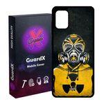 کاور گارد ایکس طرح Mask مدل Glass10164 مناسب برای گوشی موبایل سامسونگ Galaxy A31