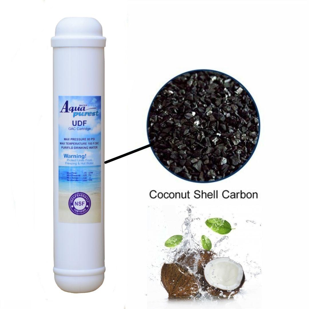 فیلتر دستگاه تصفیه کننده آب آکوا پیورست مدل پست کربن