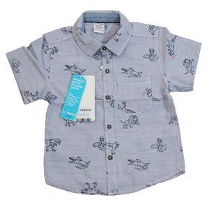 پیراهن پسرانه ال سی وایکیکی طرح حیوانات