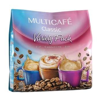 پودر قهوه فوری مخلوط کلاسیک مولتی کافه  - 18 گرم بسته 24 عددی