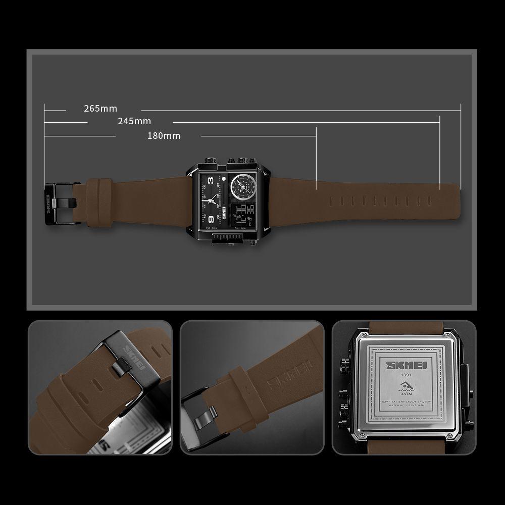 ساعت مچی عقربه ای مردانه اسکمی مدل 1391GH-NP -  - 7