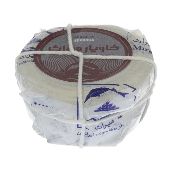 خاویار سوروگا میراث خاویار کاسپین ایرانیان - 50 گرم