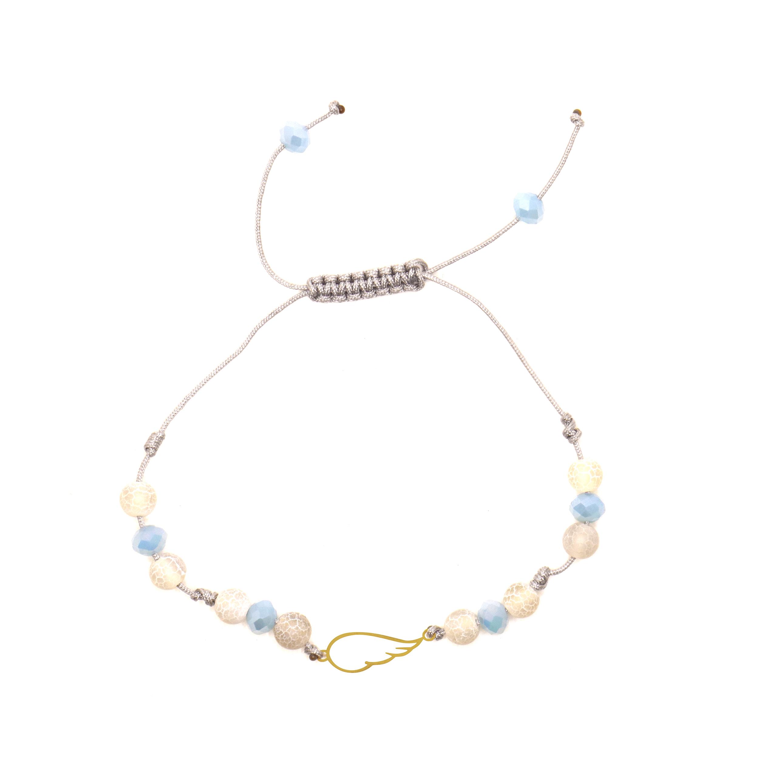 دستبند طلا 18 عیار زنانه آلند کد TD109