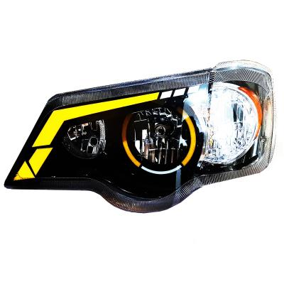 چراغ جلو مدل pe-1110 مناسب برای پراید 111 بسته 2 عددی