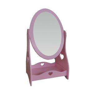 آینه اتاق کودک مدل باربی