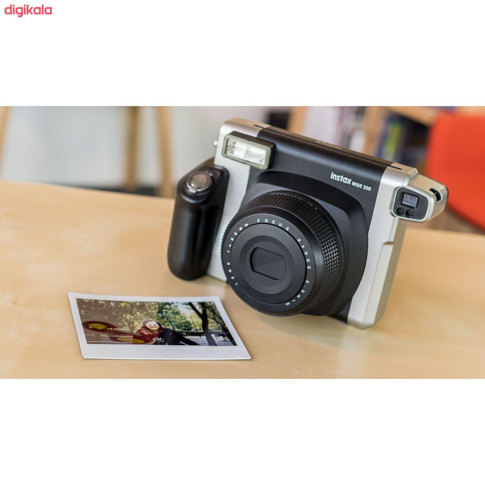 دوربین عکاسی چاپ سریع فوجی فیلم مدل Instax wide 300 main 1 8