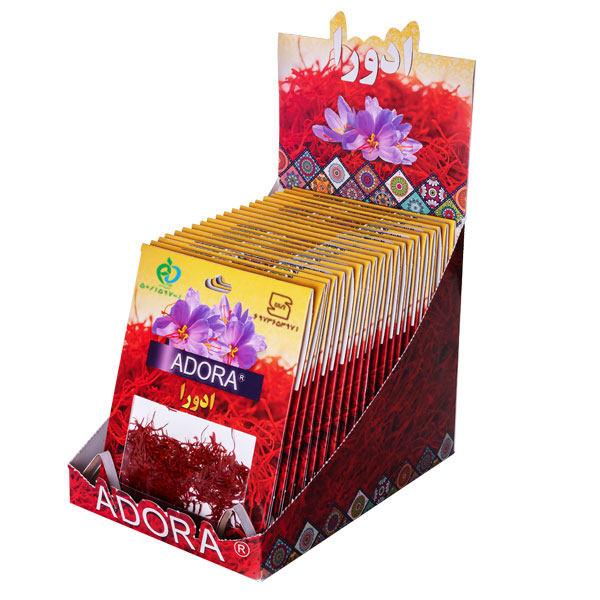 زعفران ادورا سرگل - 2.304 گرم بسته 20 عددی