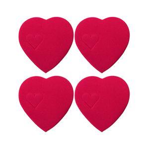 ضربه گیر درب مدل قلب کد NB02 بسته 4 عددی