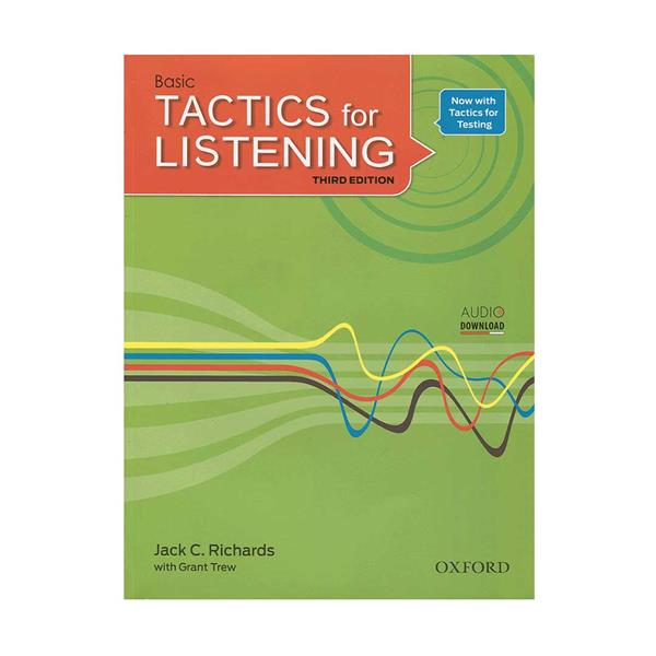 کتاب Tactics for Listening 3rd Basic اثر Jack C. Richards انتشارات اکسفورد