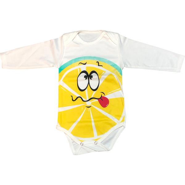 بادی نوزادی مدل لیمویی