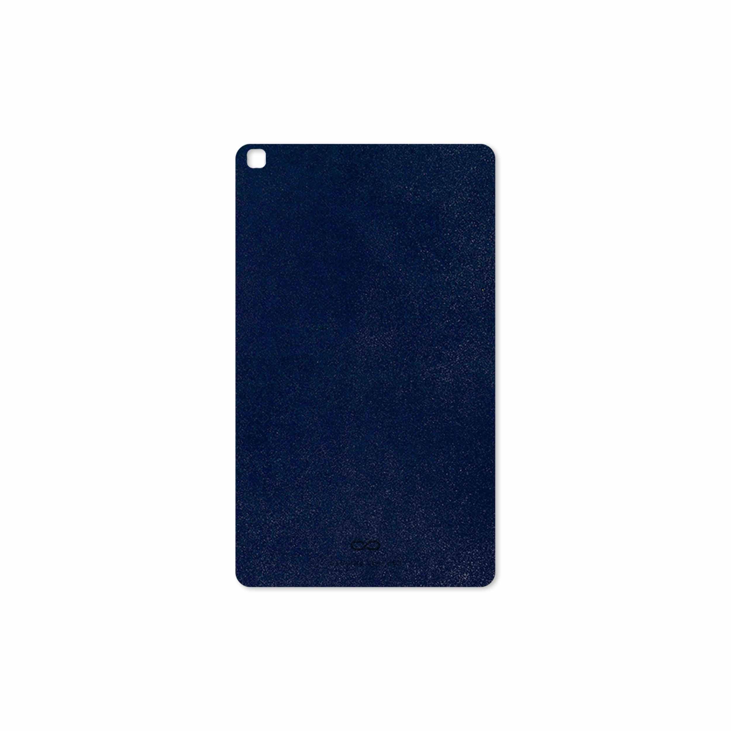 بررسی و خرید [با تخفیف]                                     برچسب پوششی ماهوت مدل Deep-Blue-Leather مناسب برای تبلت سامسونگ Galaxy Tab A 8.0 2019 T295                             اورجینال