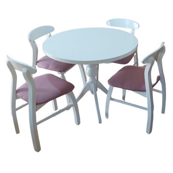 میز و صندلی ناهارخوری مدل Wh4-602