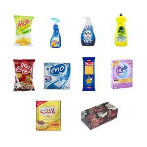 ماکت مدلمینیاتوری سوپر مارکت مجموعه 10 عددی