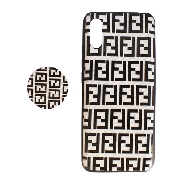 کاور کد 1012 مناسب برای گوشی موبایل شیائومی redmi9a به همراه پاپ سوکت