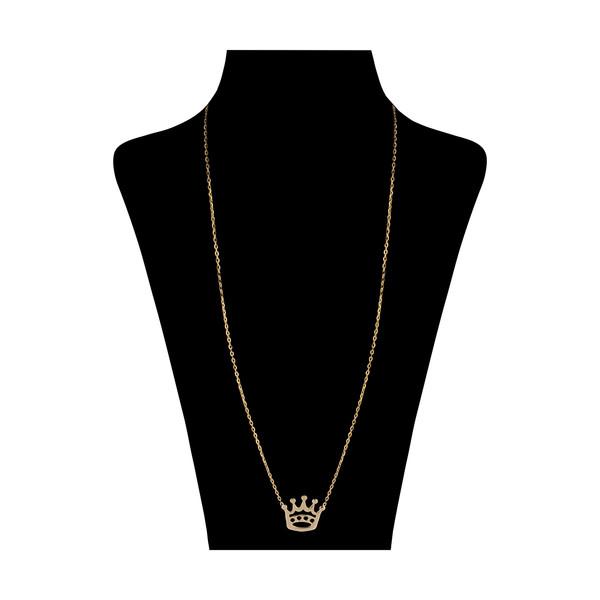 گردنبند طلا 18 عیار زنانه مدیسا مدل N2003