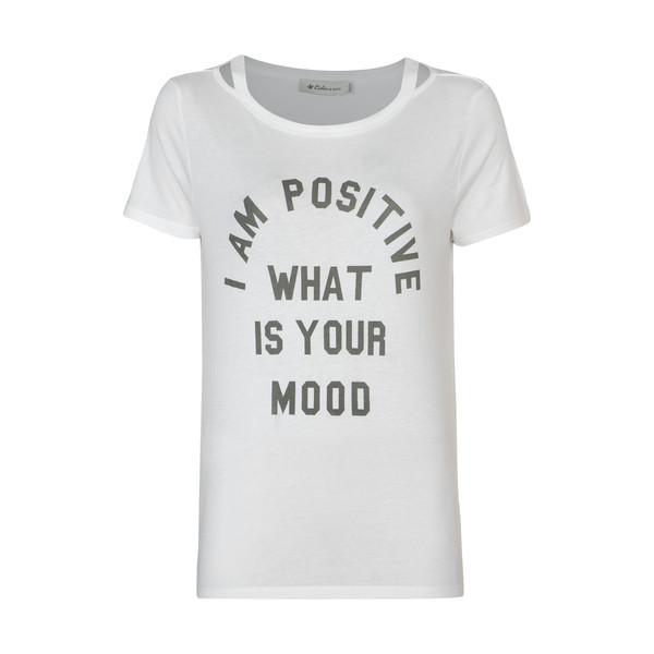 تی شرت زنانه کالینز مدل CL1032900-WHITE