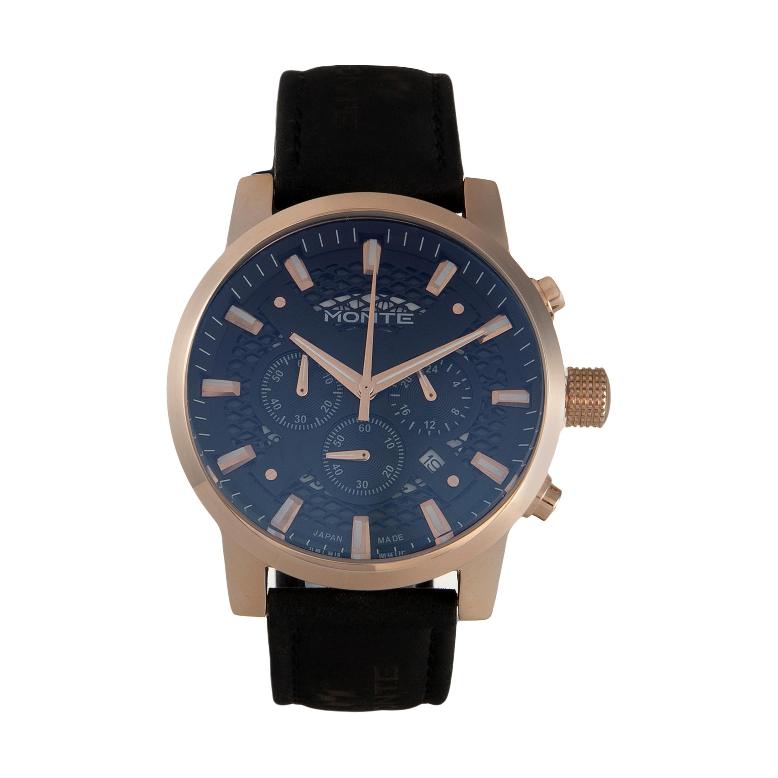 ساعت مچی  مردانه مونته مدل M751340-BLRG              اصل