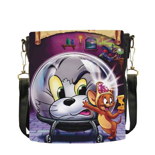کیف دوشی بچگانه طرح تام وجری کد B23