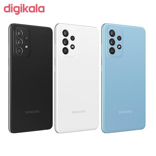 گوشی موبایل سامسونگ مدل  A52 SM-A525F/DS دو سیمکارت ظرفیت 256 گیگابایت و رم 8 گیگابایت main 1 2