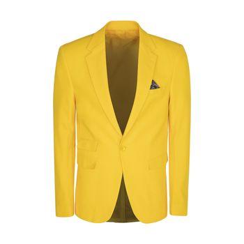 کت تک مردانه ان سی نو مدل جانسو رنگ زرد