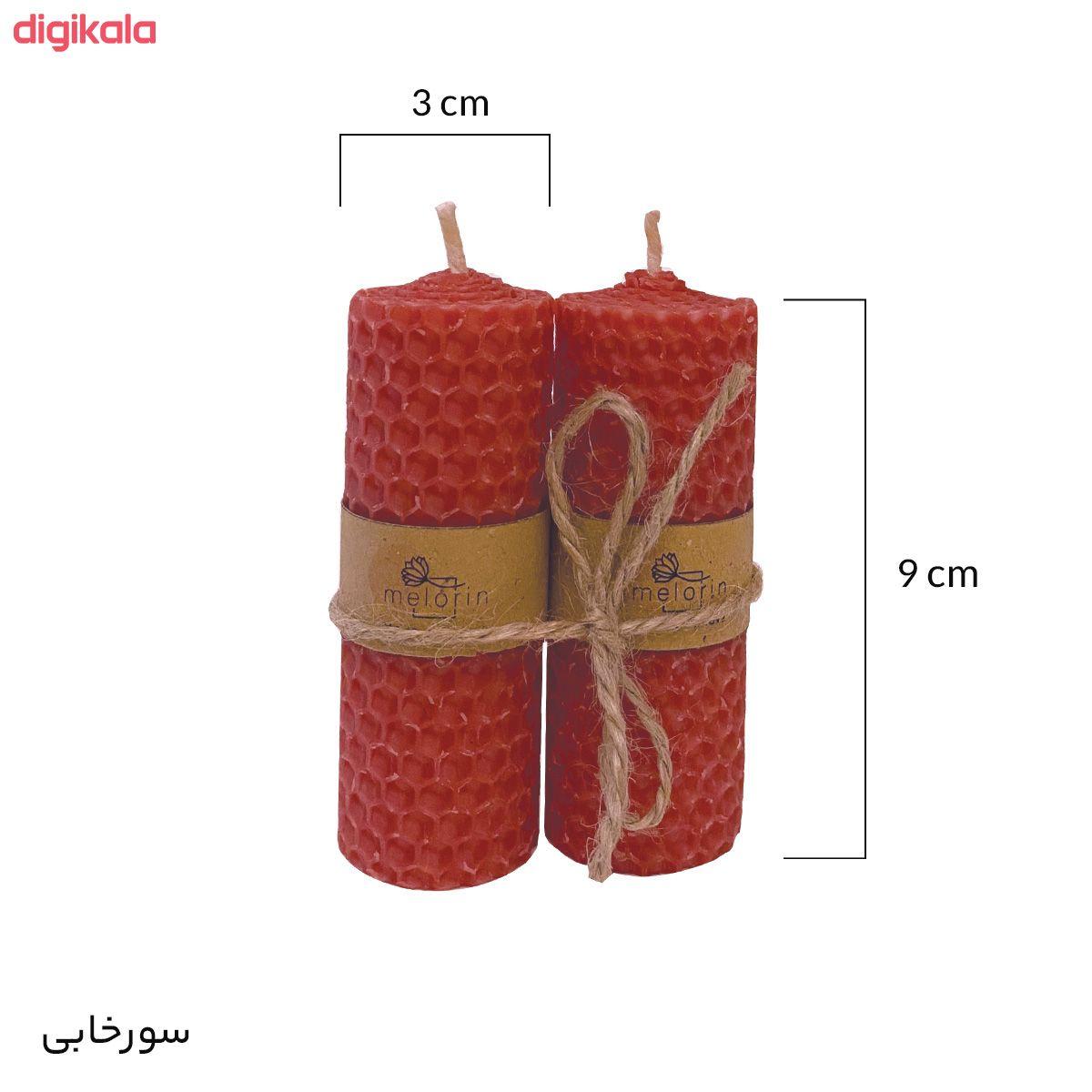 شمع ملورین کد M0010 بسته ۲ عددی main 1 2