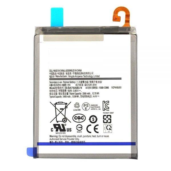 باتری موبایل مدل BA750ABUظرفیت 3400 میلی آمپر ساعت مناسب برای گوشی موبایل سامسونگ Galaxy A10