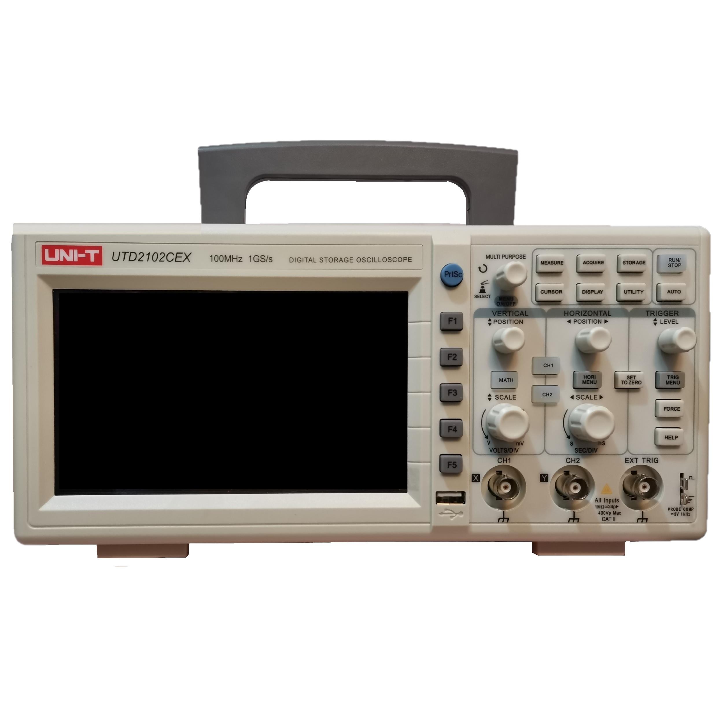 اسیلوسکوپ یونی-تی مدل UTD2102CEX