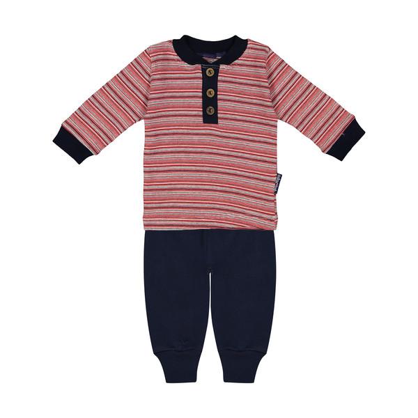 ست تی شرت و شلوار نوزادی آدمک مدل 2171128-72