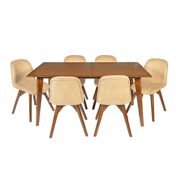 میز و صندلی ناهار خوری چوبکو مدل 690_6