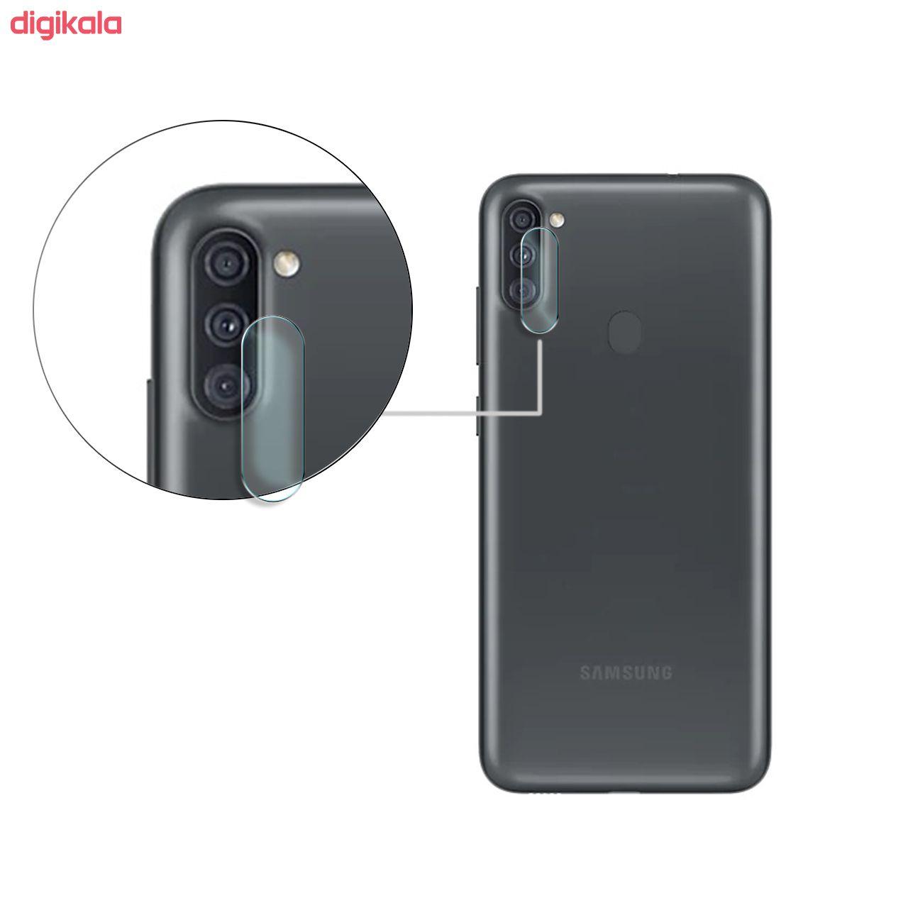 محافظ لنز دوربین سیحان مدل GLP مناسب برای گوشی موبایل سامسونگ Galaxy A11 main 1 1