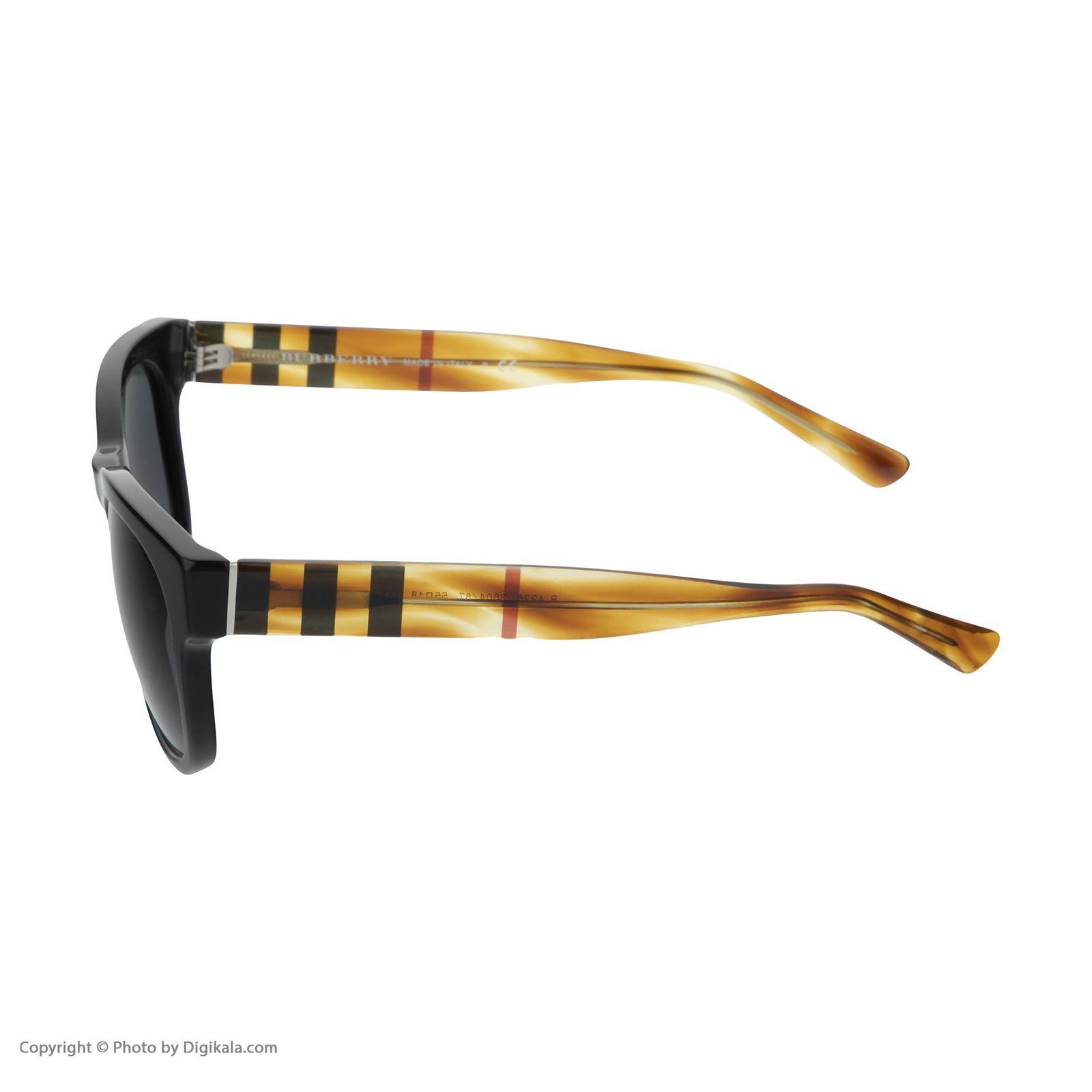 عینک آفتابی مردانه بربری مدل BE 4226S 360487 55 -  - 5