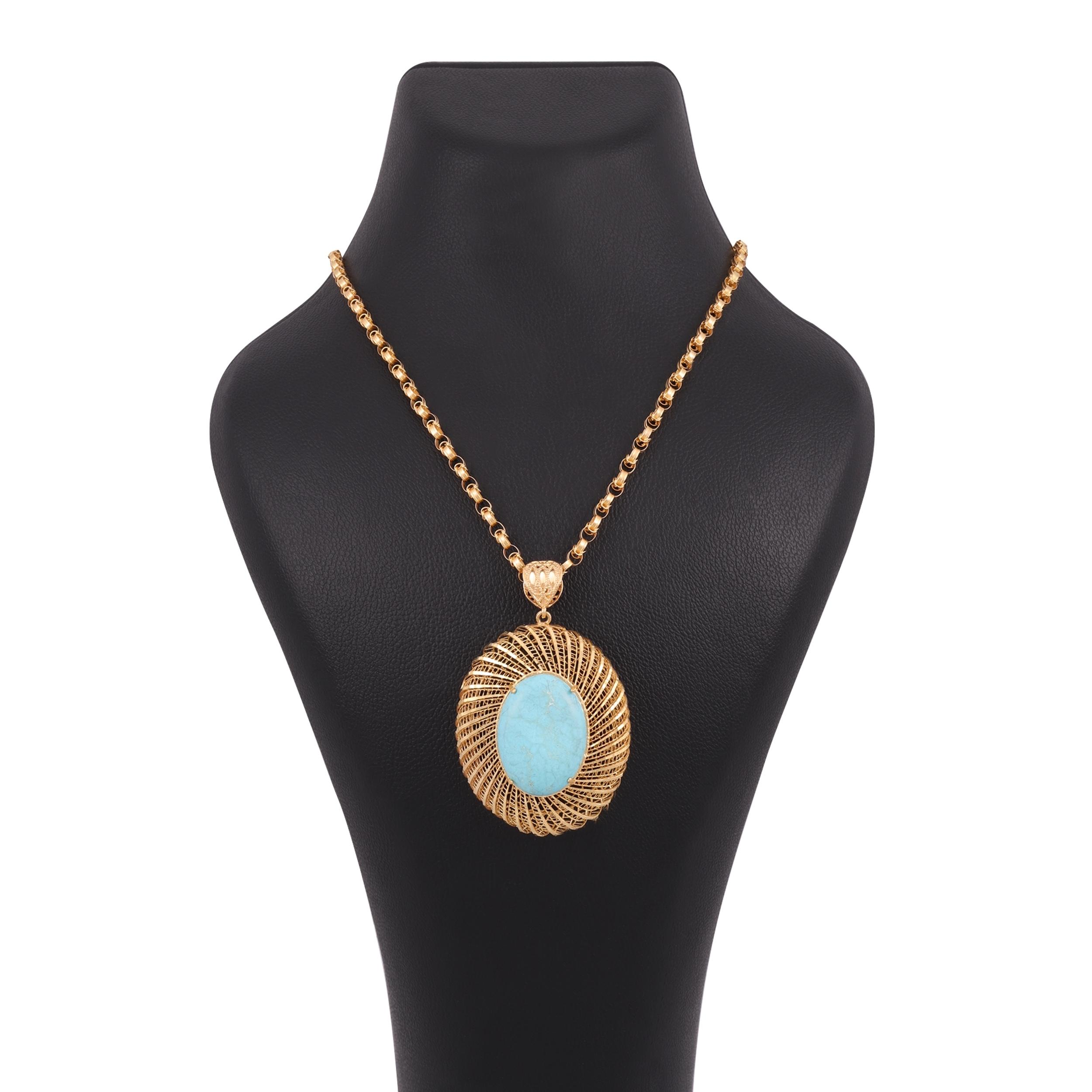 گردنبند طلا 18 عیار زنانه کد G674