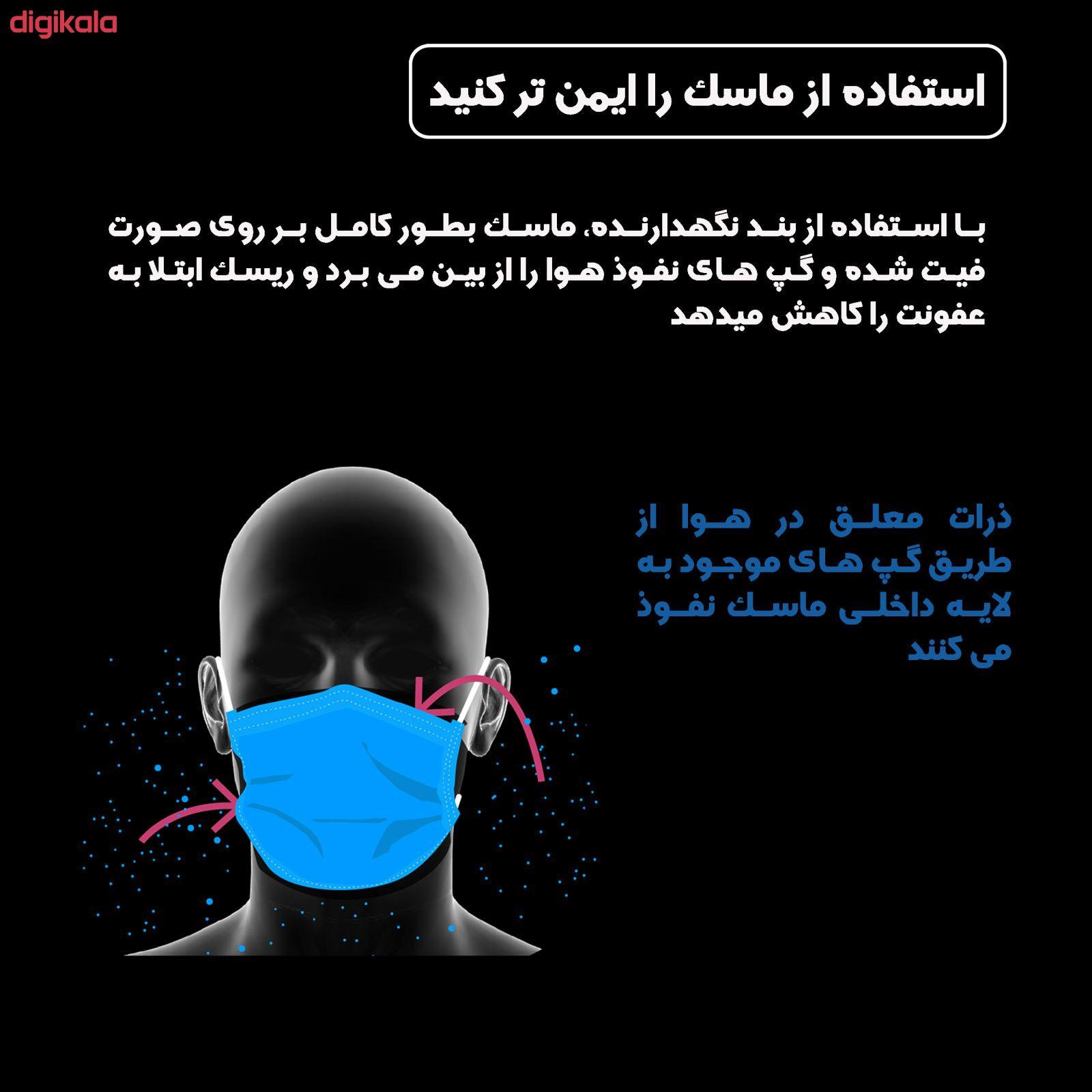 گیره نگهدارنده بند ماسک صورت مدل سایمان بسته 5 عددی main 1 3