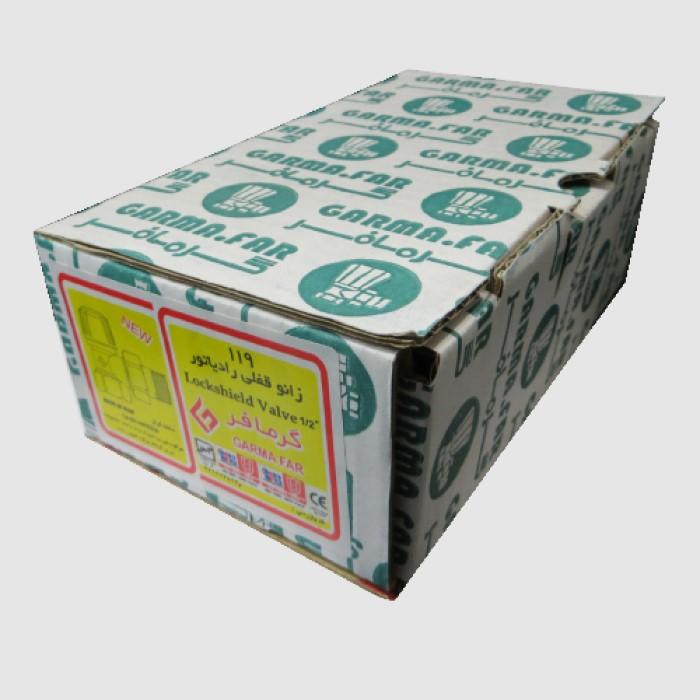 قیمت                                      شیر رادیاتور گرمافر کد 15 بسته 10عددی