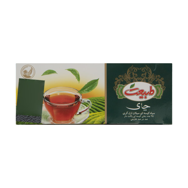 چای سیاه کیسه ای ارل گری طبیعت - بسته 25 عددی