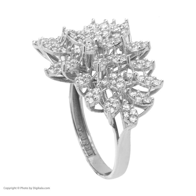 انگشتر طلا 18 عیار زنانه مایا ماهک مدل MR0355