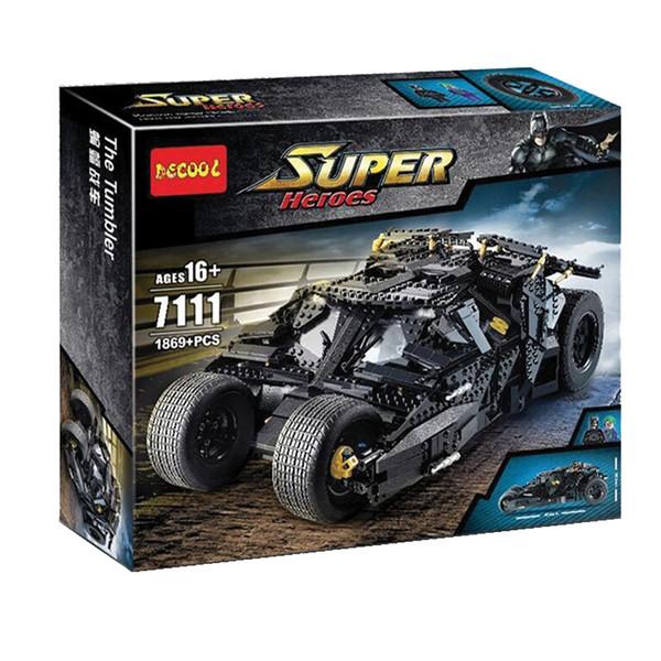 ساختنی دکول مدل ماشین بتمن کد 7111