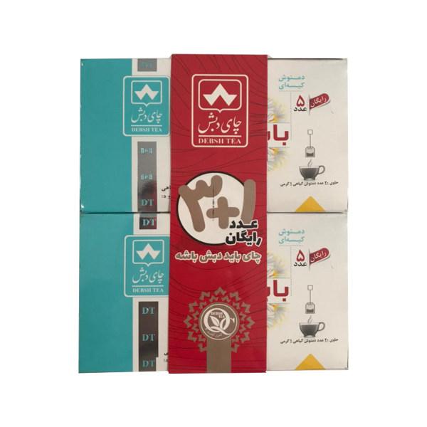 دمنوش کیسه ای بابونه چای دبش - 4 بسته ی 25 عددی