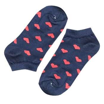 جوراب زنانه مدل قلبی کد SO-001