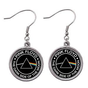 گوشواره دخترانه طرح Pink Floyd کد 37