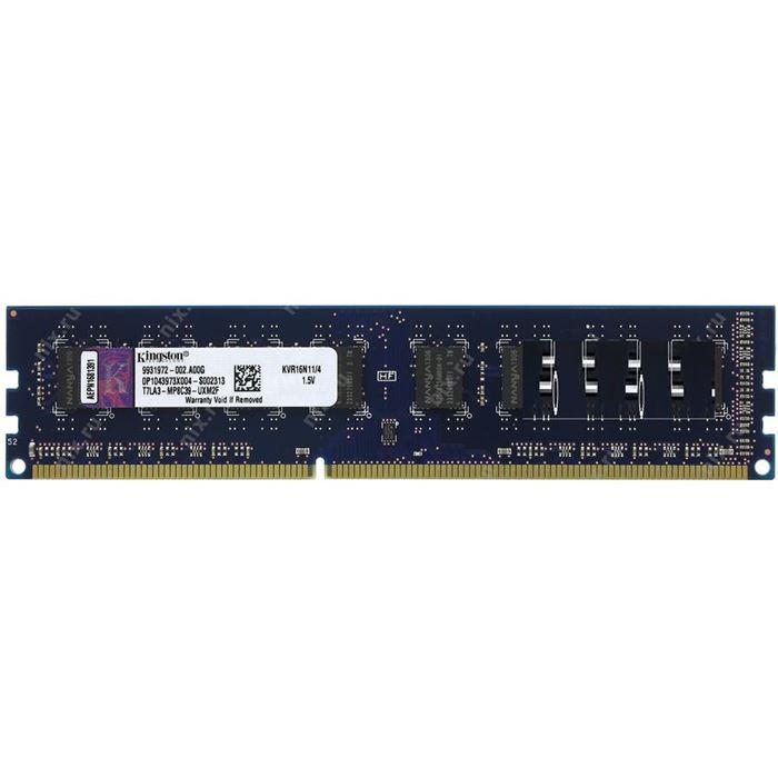 رم دسکتاپ  DDR3 تک کاناله 1600 مگاهرتز CL11 گینکستون ظرفیت 8 گیگابایت
