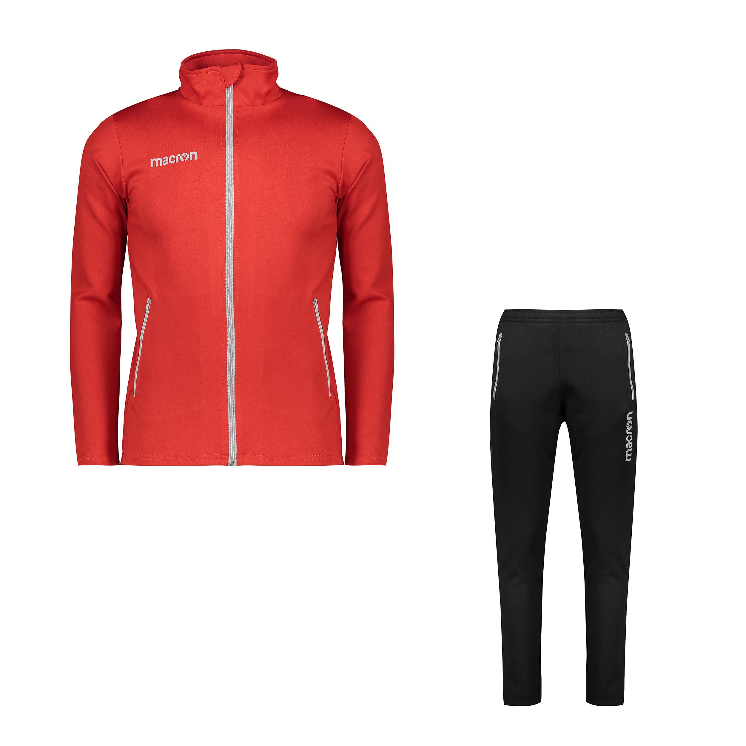 ست سویشرت و شلوار ورزشی مردانه مدل نمسیس رنگ قرمز                     غیر اصل