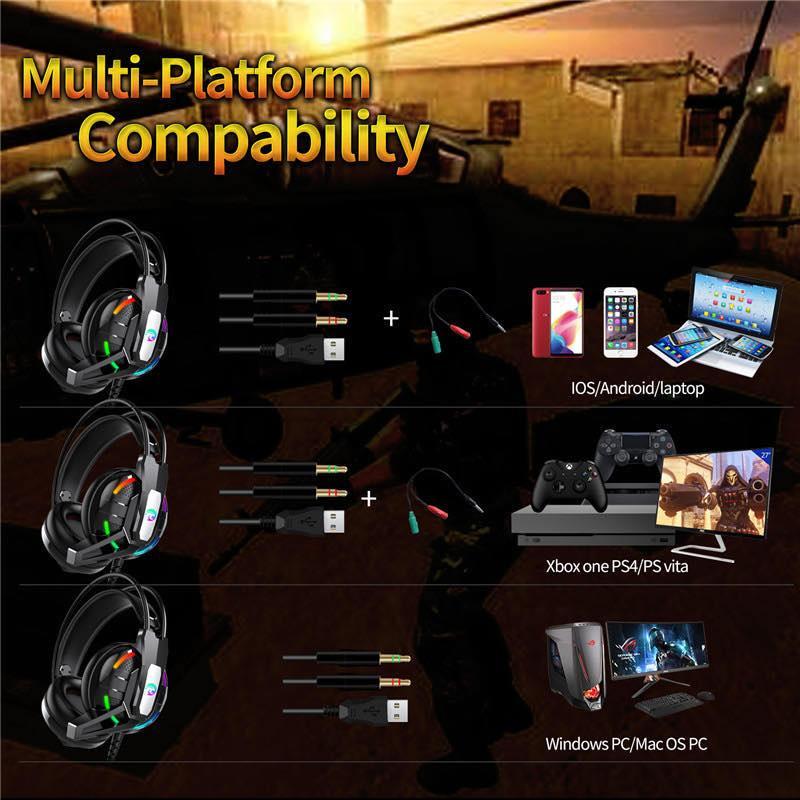 هدست گیمینگ مدل PS4-A12