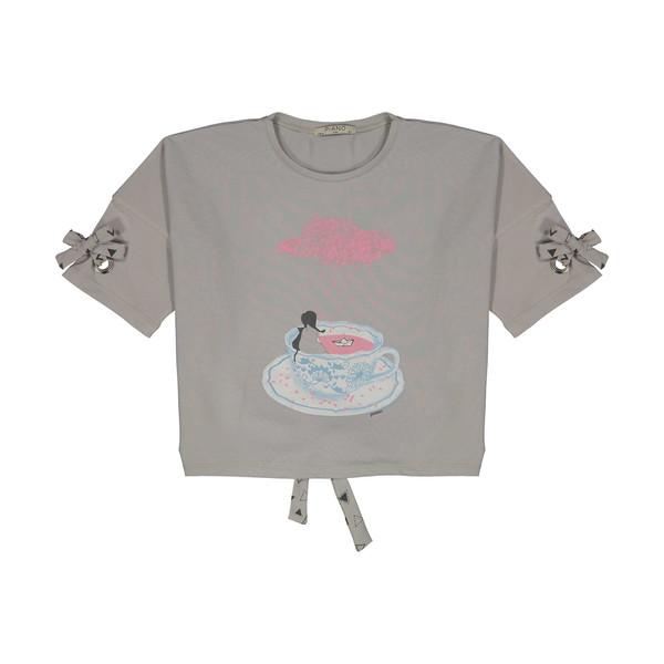 تی شرت دخترانه پیانو مدل 1830-90