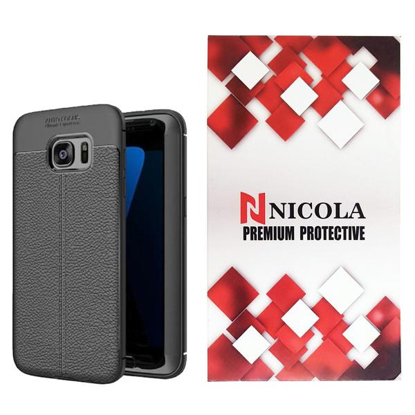 کاور نیکلا مدل N_ATO مناسب برای گوشی موبایل سامسونگ Galaxy S6