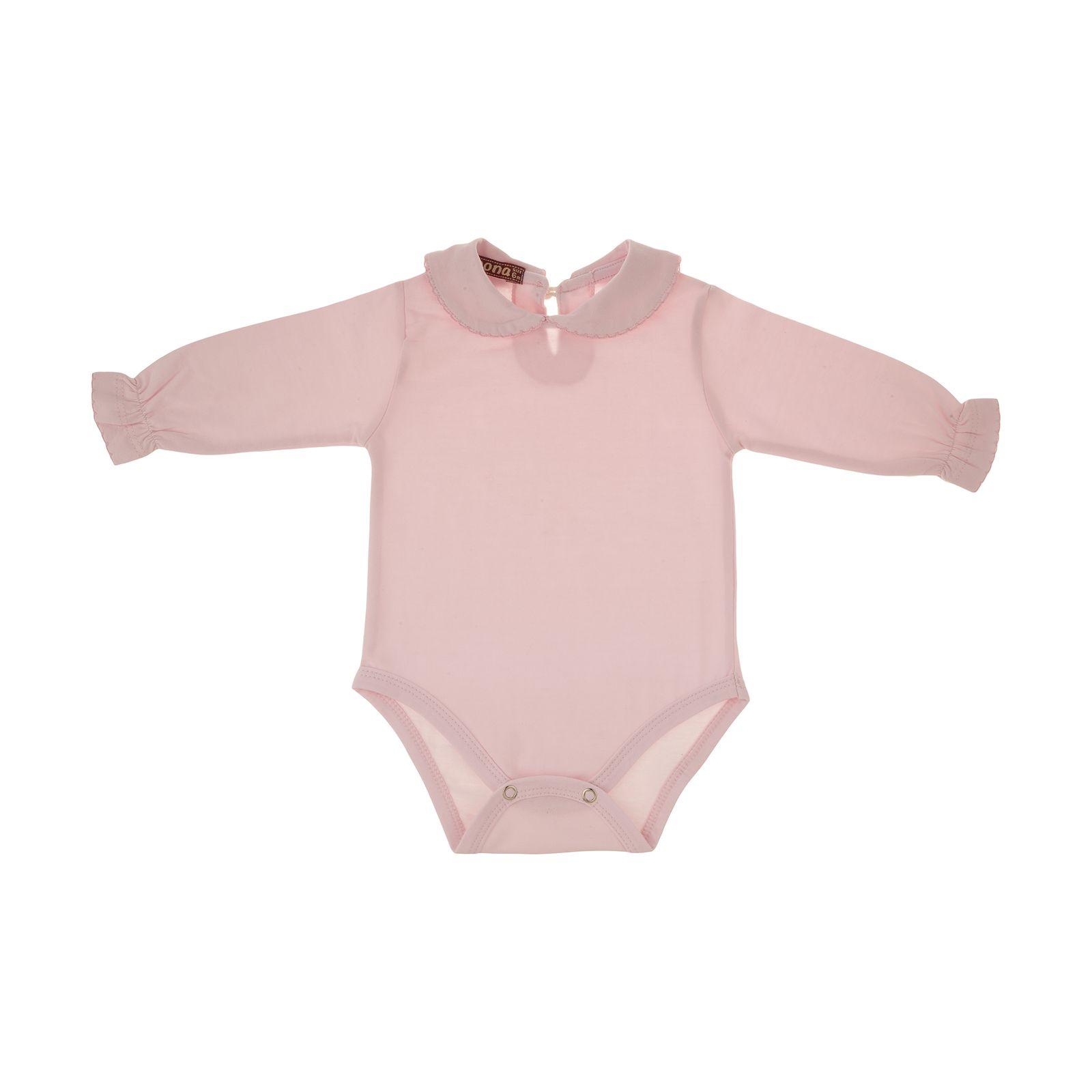 بادی نوزادی دخترانهنونا مدل 221110329-84 -  - 1