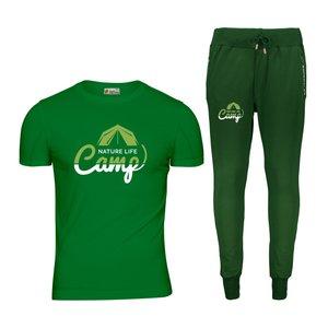 ست تی شرت و شلوار مردانه پاتیلوک مدل کمپ کد 400107