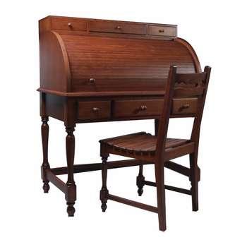 ست میز تحریر و صندلی مدل کلاسیک AS