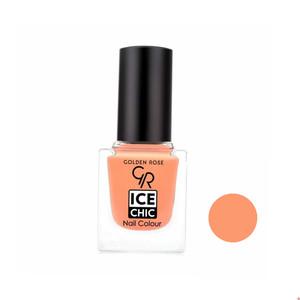 لاک ناخن گلدن رز مدل Ice chic شماره 87